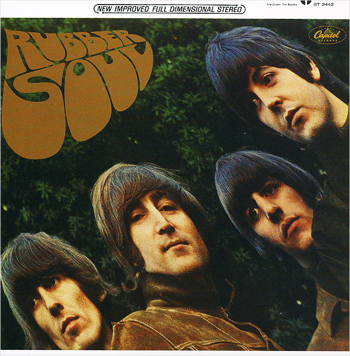 The Beatles The Beatles. Rubber Soul (The U.S. Album) the beatles the beatles rubber soul ecd