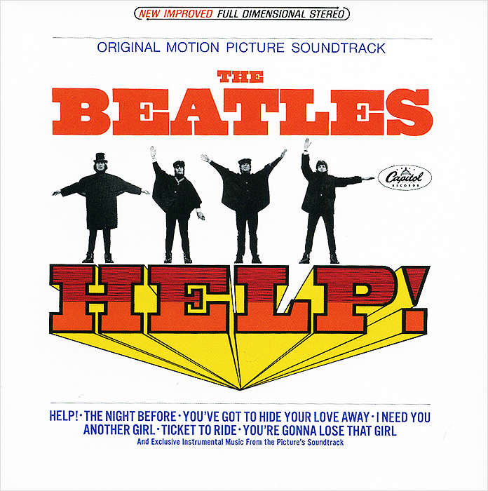 The Beatles The Beatles. Help! Original Motion Picture Soundtrack (The U.S. Album) цена