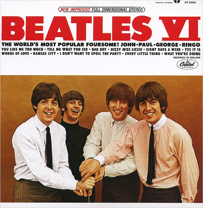 The Beatles The Beatles. Beatles VI (The U.S. Album) оркестр шоу sting the beatles queen