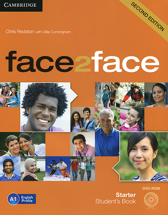 Face2Face: Starter: Student's Book (+ DVD-ROM) gold experience a1 students book dvd rom