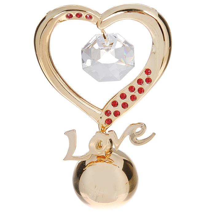 купить Фигурка декоративная Сердце, цвет: золотистый. 67538 дешево