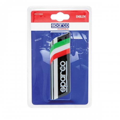 Эмблема с логотипом Sparco, самоклеящаяся, цвет: черный. SPC/EMB-003 BK тент чехол для автомобиля sparco spc cov 700 bl м полиэстер синий