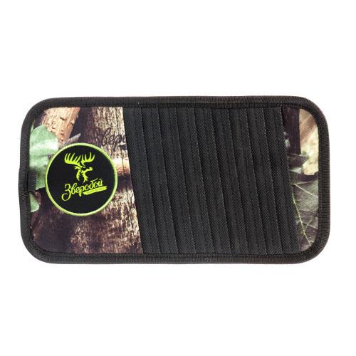 Органайзер на козырек Зверобой, для CD-дисков, 30 см х 15 см. ZV/ORG-010 S органайзер в багажник travel org 35 bk 70х32х30см брезент прозрачный клапан чёрный