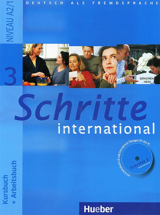 Schritte international 3: Kursbuch: Arbeitsbuch (+ CD-ROM)