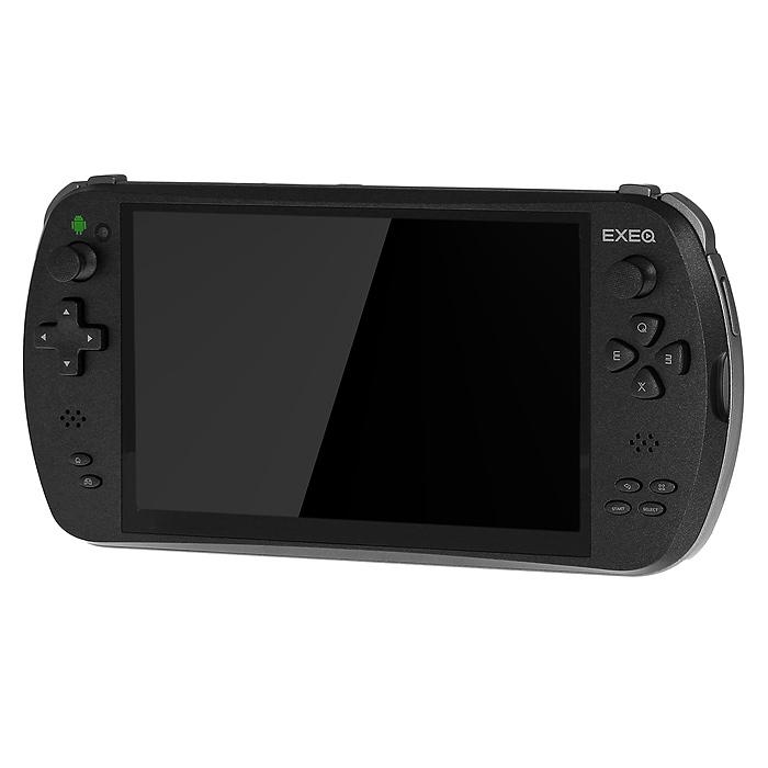 Портативная игровая консоль EXEQ Aim (черная) игры для приставки exeq net