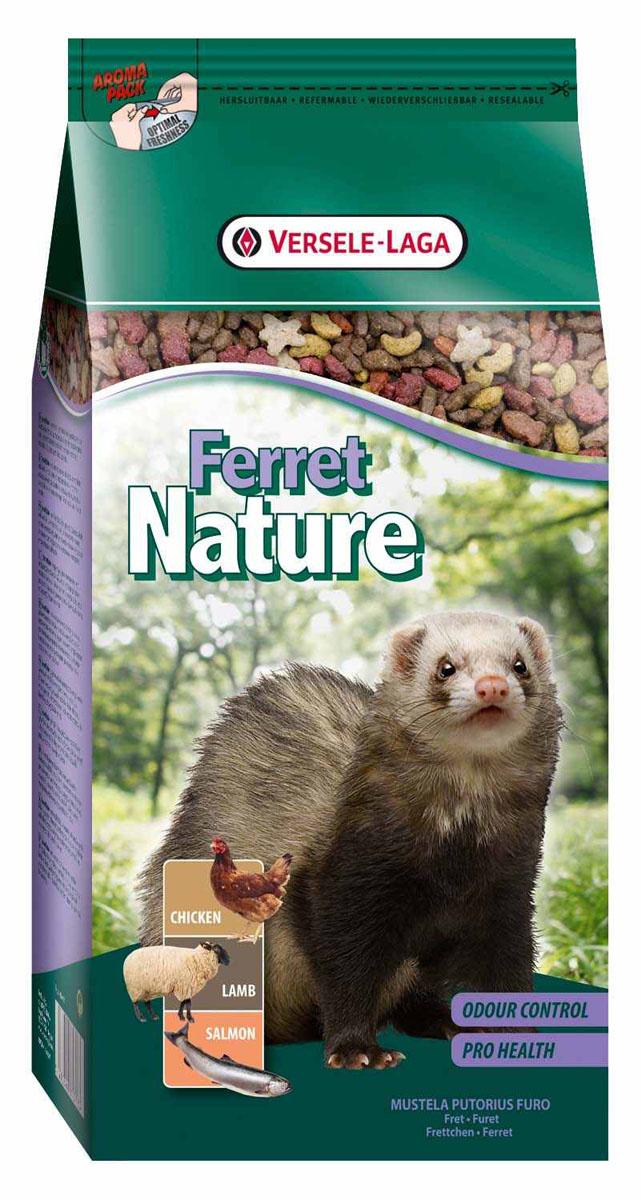 Корм для хорьков Versele-Laga Ferret Nature, 750 г корм для хорьков versele laga complete ferret 750 г