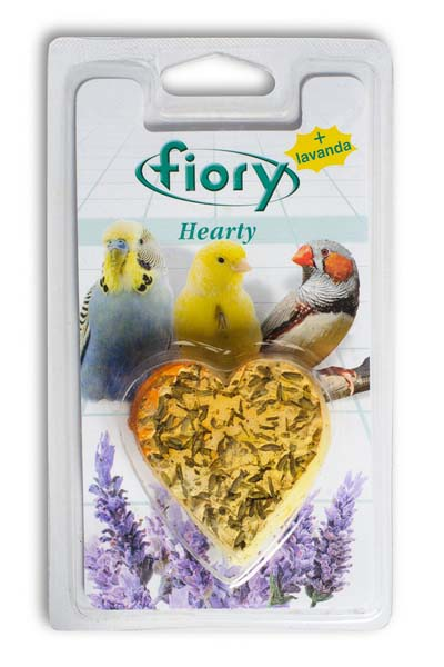 Био-камень для птиц Fiory, в форме сердца, 45 г чайная добавка цветы хризантемы 15 г