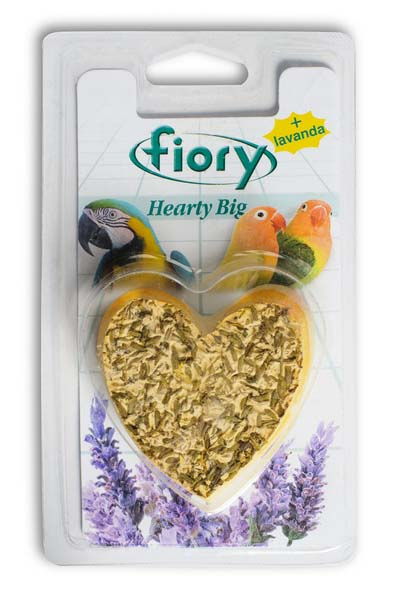 Био-камень для птиц Fiory Сердце, 100 г чайная добавка цветы хризантемы 15 г