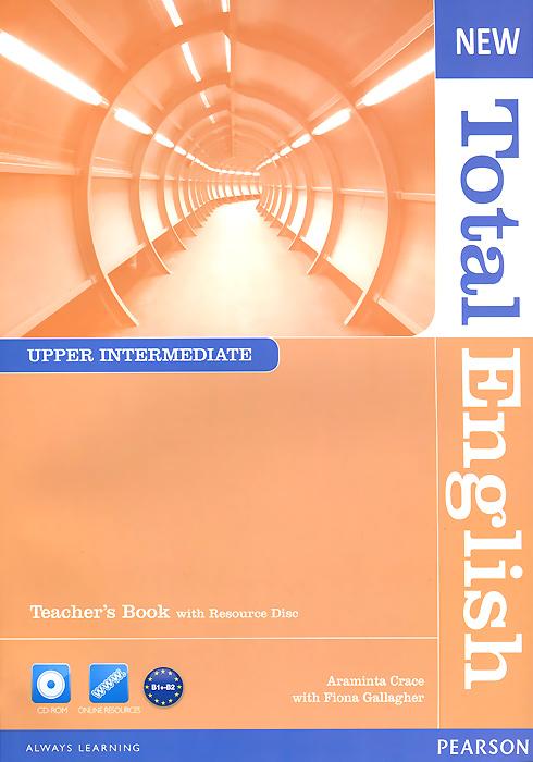 New Total English: Upper Intermediate: Teacher's Book (+ CD-ROM) total english pre int workbook cd rom