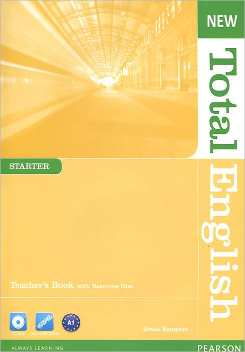 New Total English: Starter: Teacher's Book (+ CD-ROM) цены