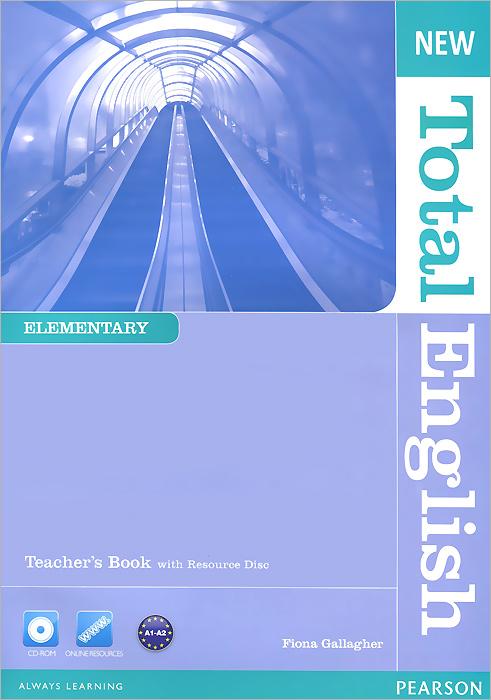 New Total English: Elementary: Teacher's Book (+ CD-ROM) total english pre int workbook cd rom