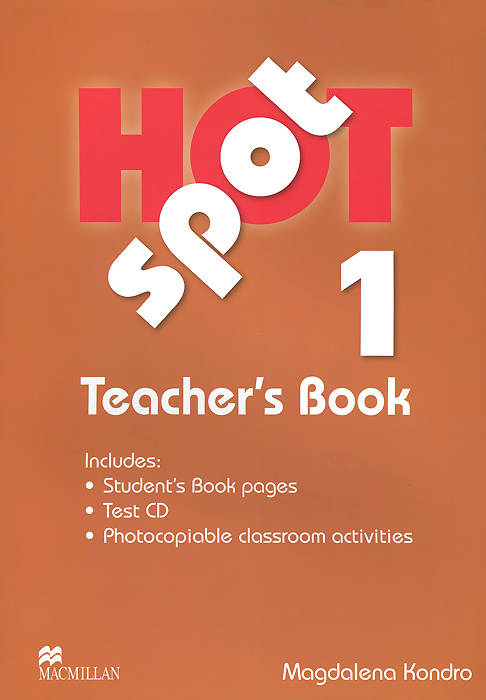 Hot Spot 1: Teacher's Book (+ CD) french in one click book with cd
