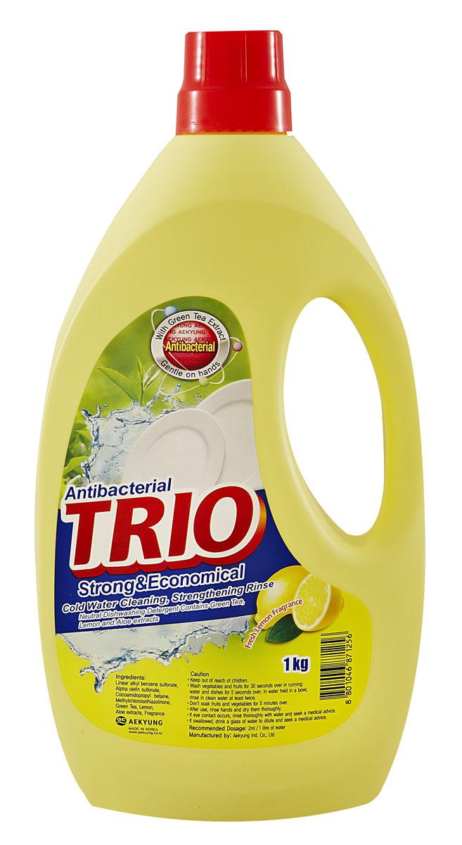 Средство для мытья посуды Trio