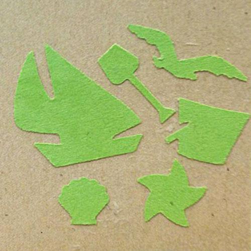 Фигурный дырокол 6в1 Craft Premier  Пляжная коллекция . CP03672