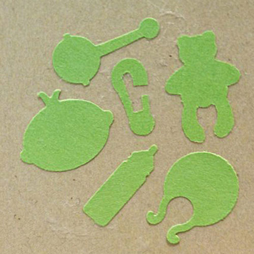 Фигурный дырокол 6в1 Craft Premier Детская коллекция. CP03689 фигурный дырокол craft premier василек с объемной вырубкой cp03658