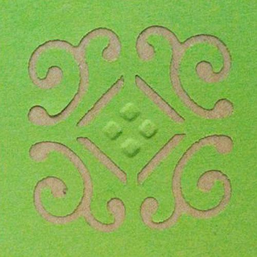 Фигурный дырокол Craft Premier Плитка, с тиснением. CP03863