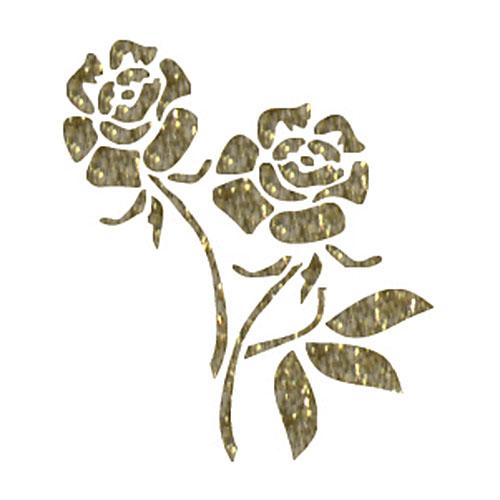 Трансфер универсальный Розы, 17 х 25 см SM-014