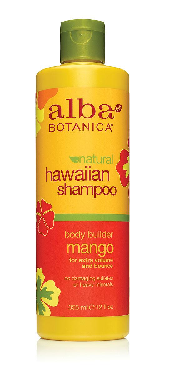 "Alba Botanica Гавайский шампунь ""Body Builder Mango"", с манго, 355 мл"