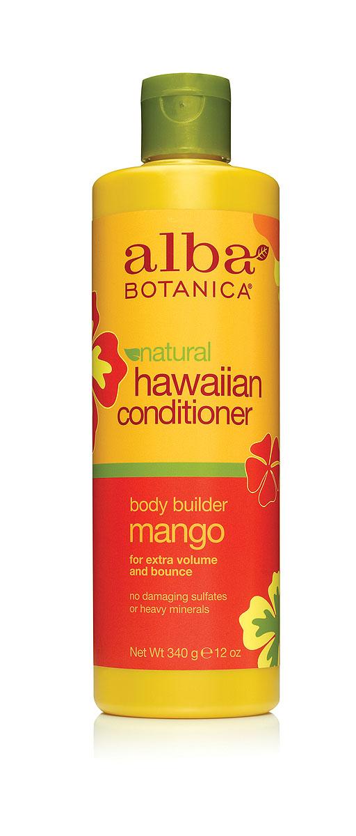 """Alba Botanica Гавайский кондиционер """"Body Builder Mango"""", с манго, 340 г"""