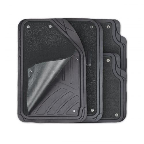цена на Коврики автомобильные Autoprofi Focus 2, универсальные, морозостойкие, цвет: черный, 4 предмета