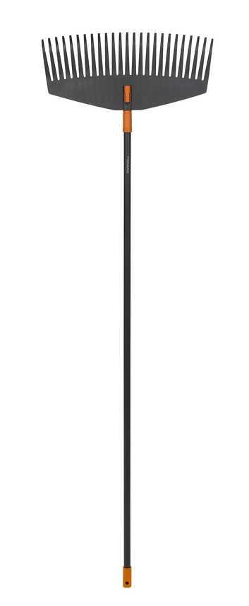 Грабли для листьев большие Fiskars, ширина 52 см(код135014 + код135001) насадка для граблей большая fiskars серии solid большая