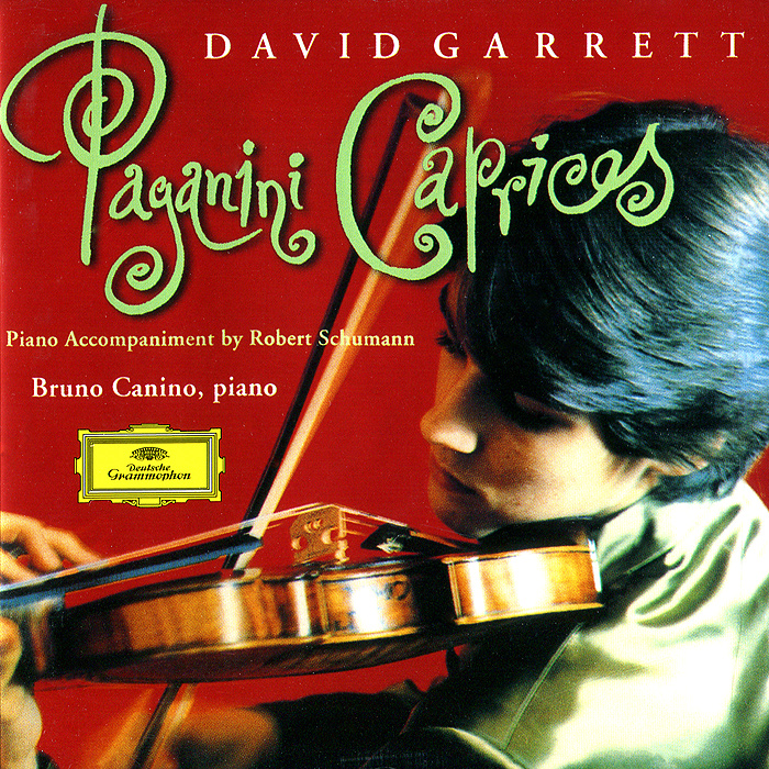 Бруно Канино,Дэвид Гарретт David Garrett, Bruno Canino. Paganini. Caprices For Violin, Op.24 недорго, оригинальная цена