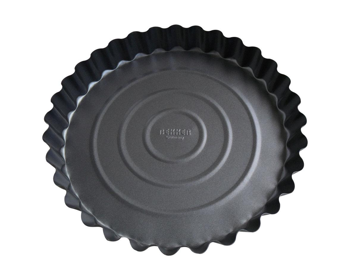 """Форма для выпечки """"Bekker"""" с антипригарным покрытием, цвет: серый, диаметр 27,7 см. BK-3957 (24)"""