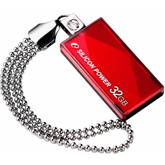 USB Флеш-накопитель Silicon Power Touch 810, красный