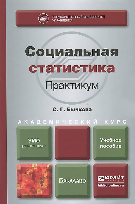 С. Г. Бычкова Социальная статистика. Практикум. Учебное пособие
