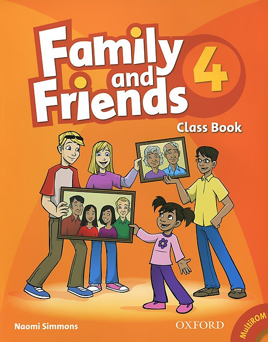 Family and Friends 4: Class Bbook (+ CD-ROM)