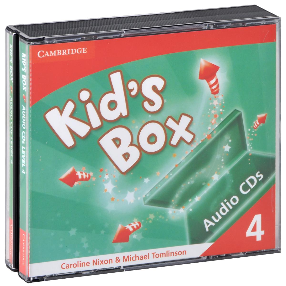 Kid's Box: Level 4 (аудиокурс CD) delfin horverstehen teil 1 аудиокурс на 4 cd