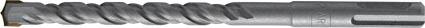 Бур по бетону FIT Профи с двойной резьбой, 10 х 600 мм32975Бур FIT Профи используется профессионалами для перфораторов с системой крепления SDS-plus. Изготовлен из инструментальной стали с твердосплавной вставкой. Бур предназначен для работы по бетону, камню и кирпичу.
