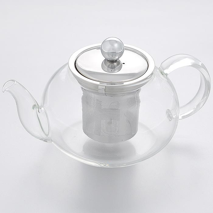 """Чайник заварочный """"Hans & Gretchen"""", с фильтром, цвет: серебристый, 0,5 л. 14YS-8212"""