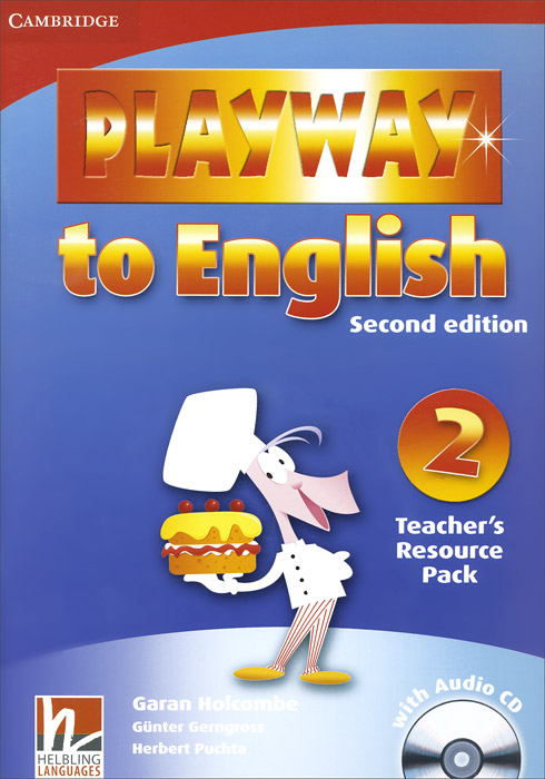 Playway to English: Level 2: Teacher's Resource Pack (+ CD-ROM) playway to english level 2 cards pack