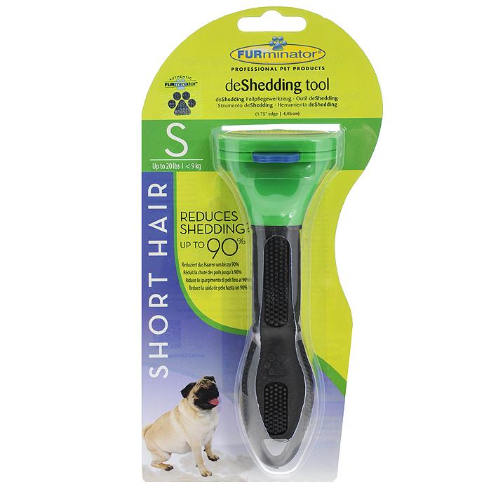"""Фурминатор для короткошерстных собак мелких пород """"FURminator"""", длина лезвия 4,5 см"""
