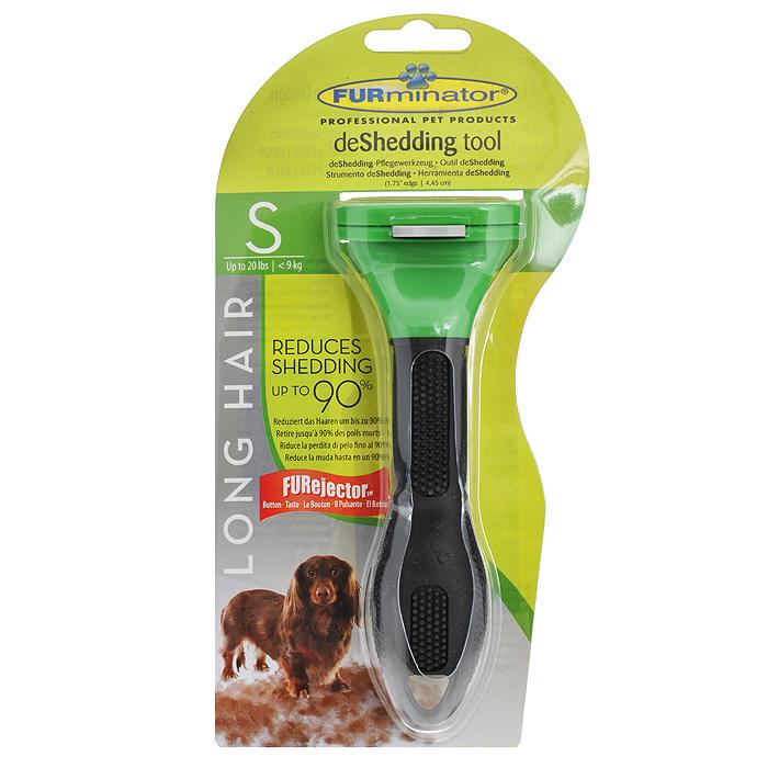 """Фурминатор для длинношерстных собак мелких пород """"FURminator"""", длина лезвия 4 см"""