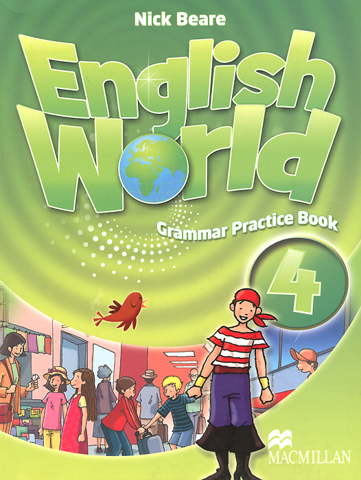 English World 4: Grammar Practice Book enter the world of grammar book 4
