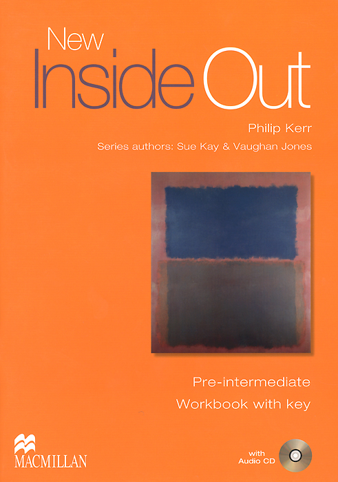 цена на New Inside Out: Workbook with Key: Pre-Intermediate Level (+ CD-ROM)