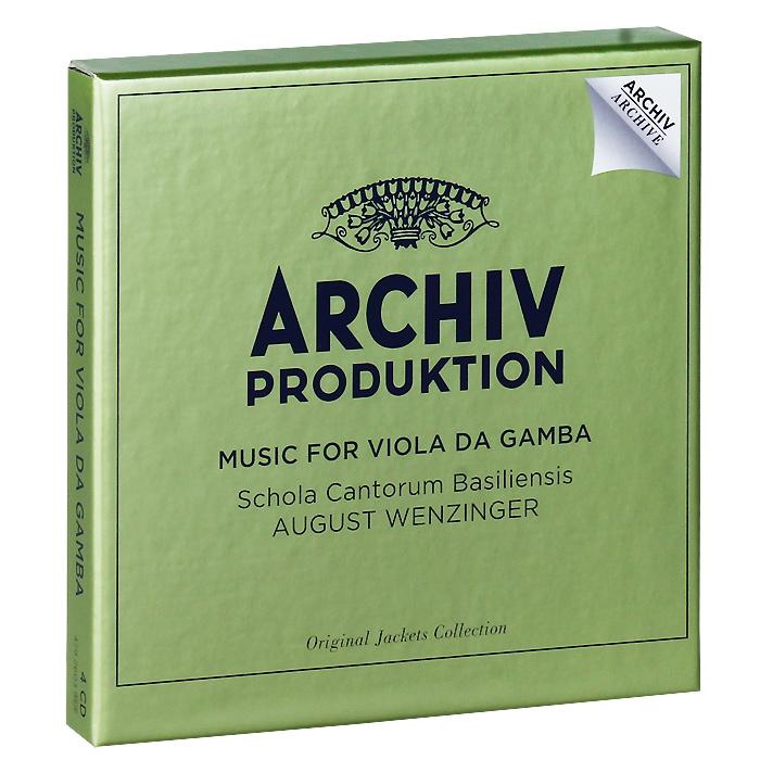 Аугуст Винзингер,Marianne Majerus,Фриц Неумеэер,Эдуард Мюллер,Бруно Гофман Music For Viols (4 CD) цена и фото