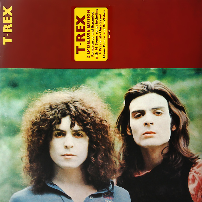 T. Rex T. Rex T. Rex. Deluxe Edition (2 LP) uncle milton динопедия t rex