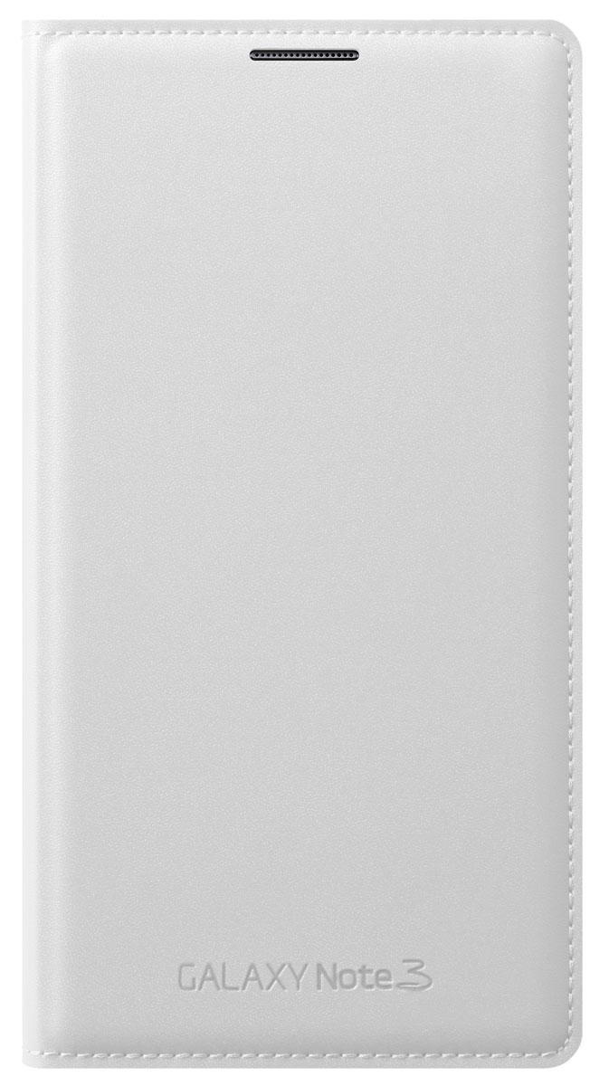 Samsung EF-WN900 Flip Wallet чехол для Galaxy Note 3 N9000/N9005, White стоимость