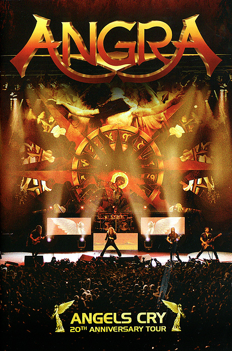 все цены на Angra: Angels Cry - 20th Anniversary Tour онлайн