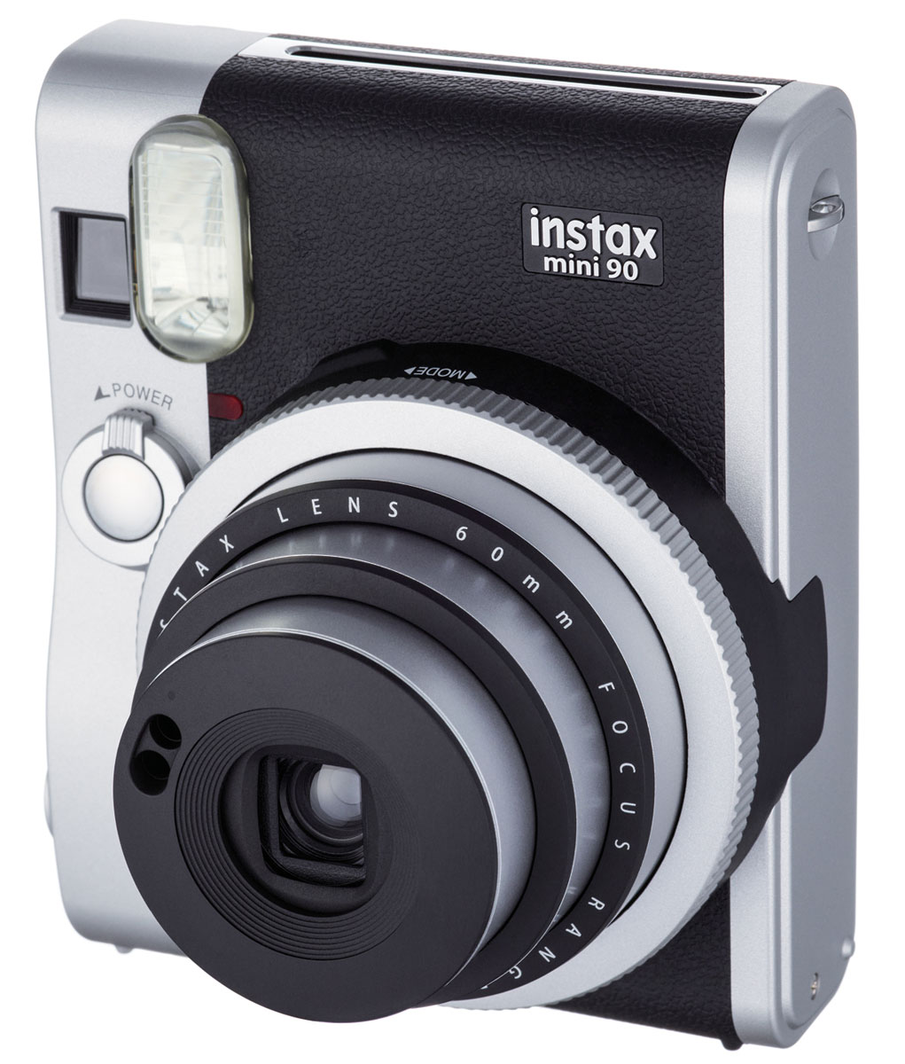 Fujifilm Instax Mini 90, Black фотоаппарат