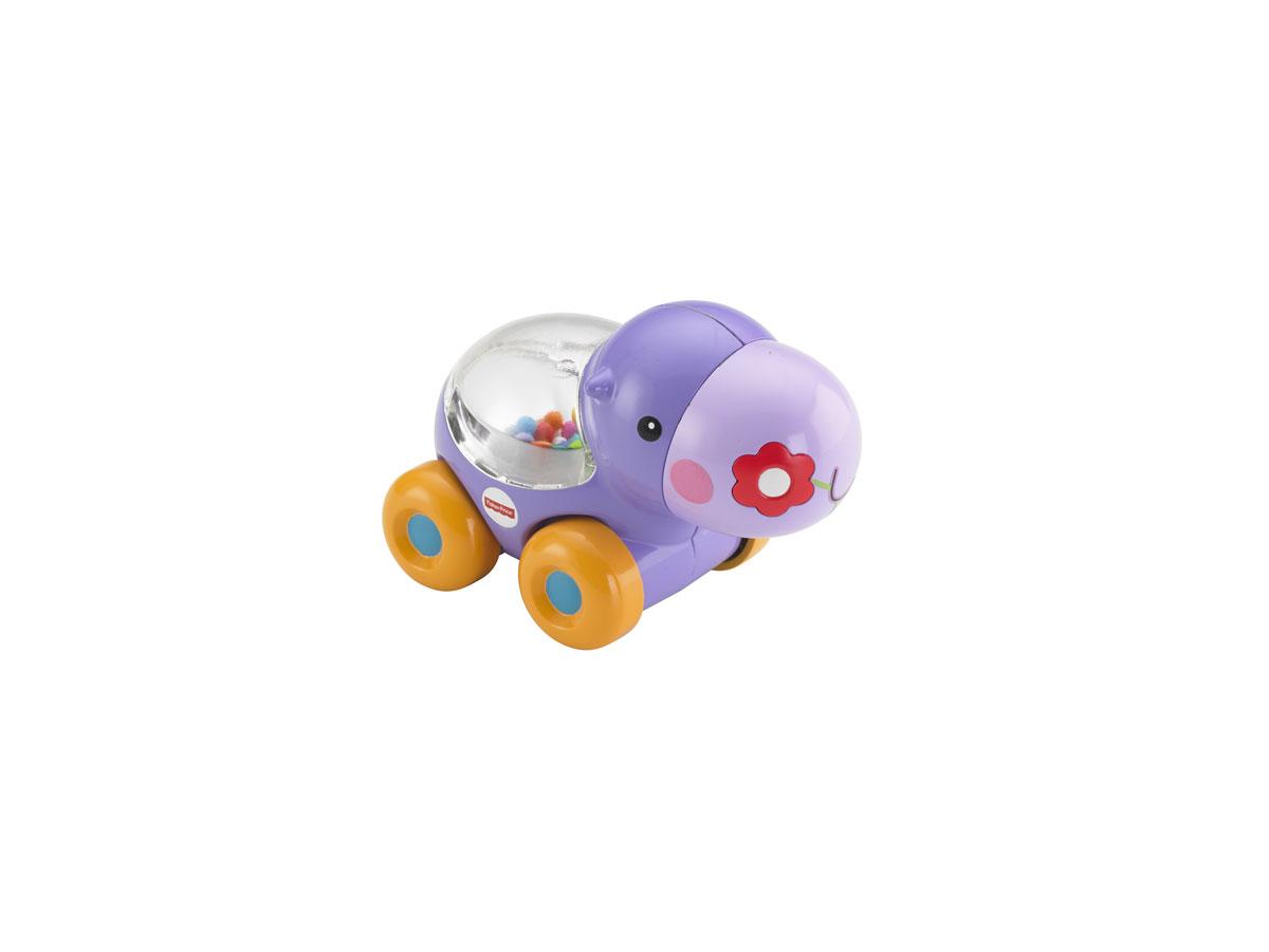 Fisher-Price Развивающая игрушка Бегемотик с прыгающими шариками fisher price infant каталка обучающая черепашка на колесиках