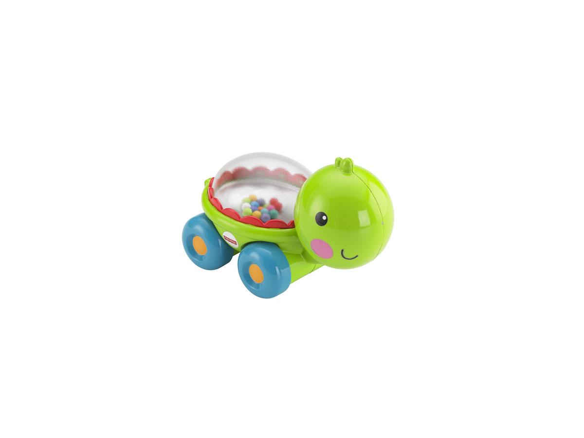 Fisher-Price Развивающая игрушка Черепашка с прыгающими шариками чикко игрушка развивающая улитка на колесиках вперед ребята