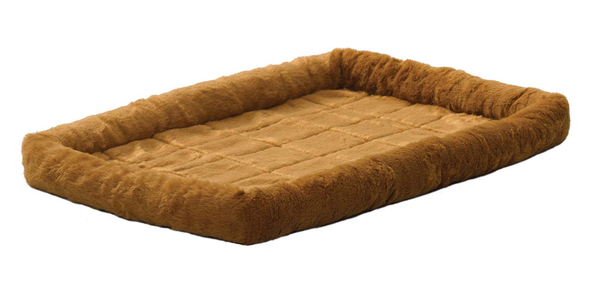 Лежанка для животных Midwest Quiet Time, цвет: светло-коричневый, 127 см х 76 см лежанка для животных lion manufactory мишель цвет коричневый 50 х 50 см