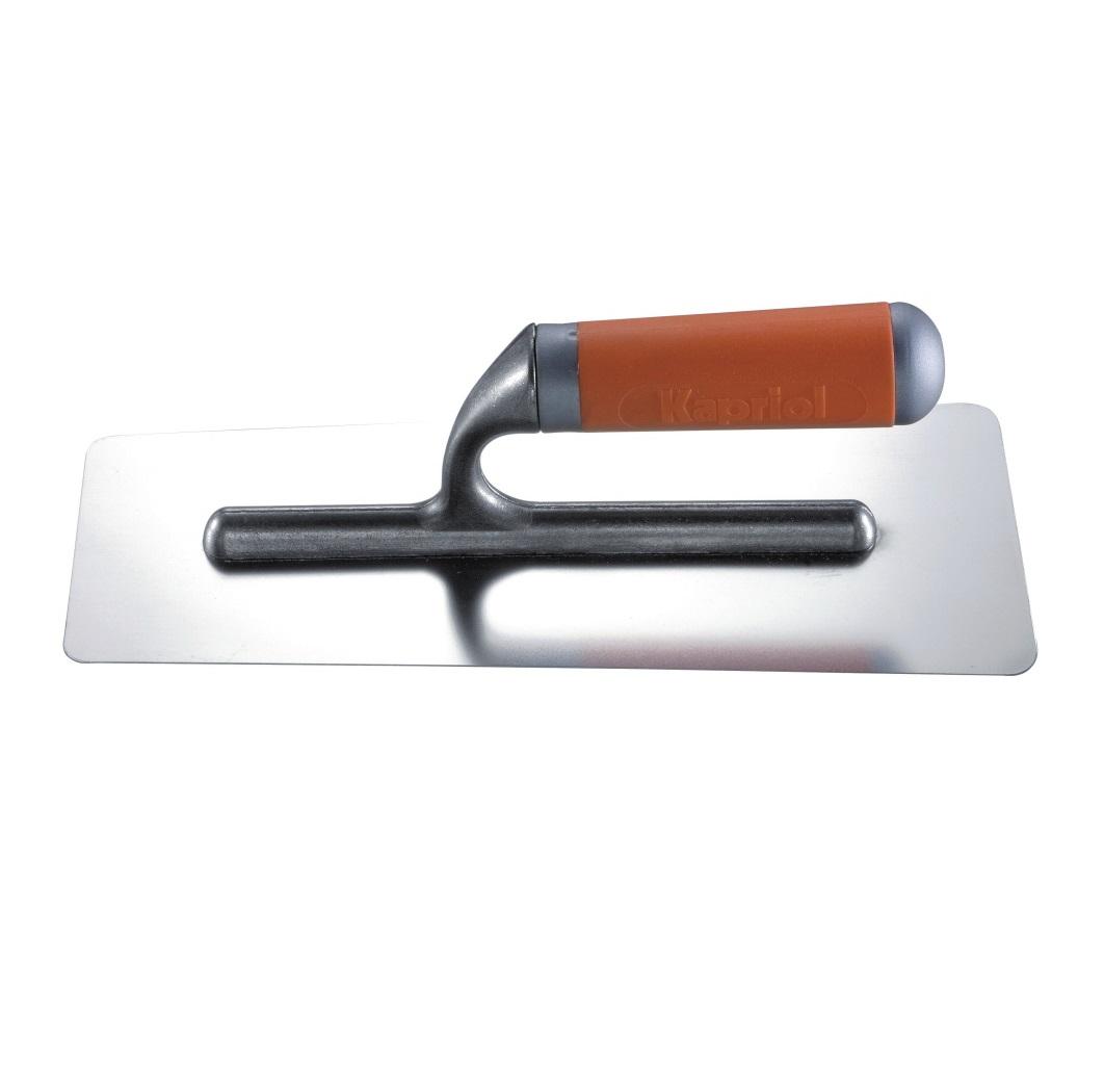 Гладипка трапеция Kapriol, ручка Progrip, нержавеющая сталь, 10 х 12 х 28 см цена