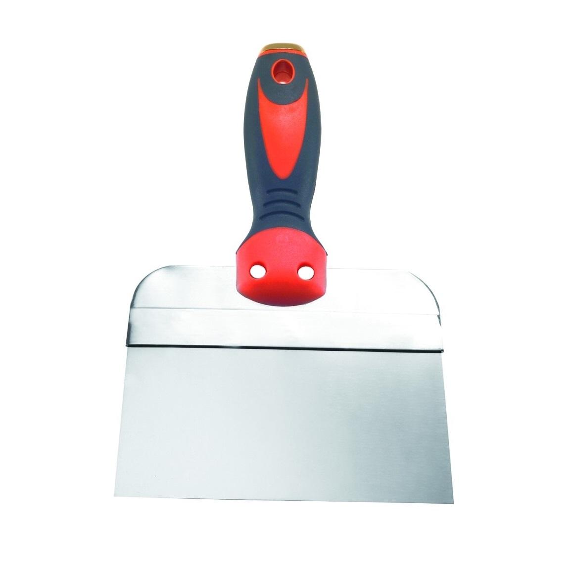 купить Шпатель полужесткий Kapriol, с ручкой Progrip, нержавеющая сталь, 10 см по цене 424 рублей