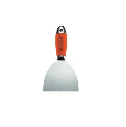 Шпатель жесткий Kapriol, кованый, полированный, 8 см kapriol 100 мм 23203 жесткий кованый полированный шпатель