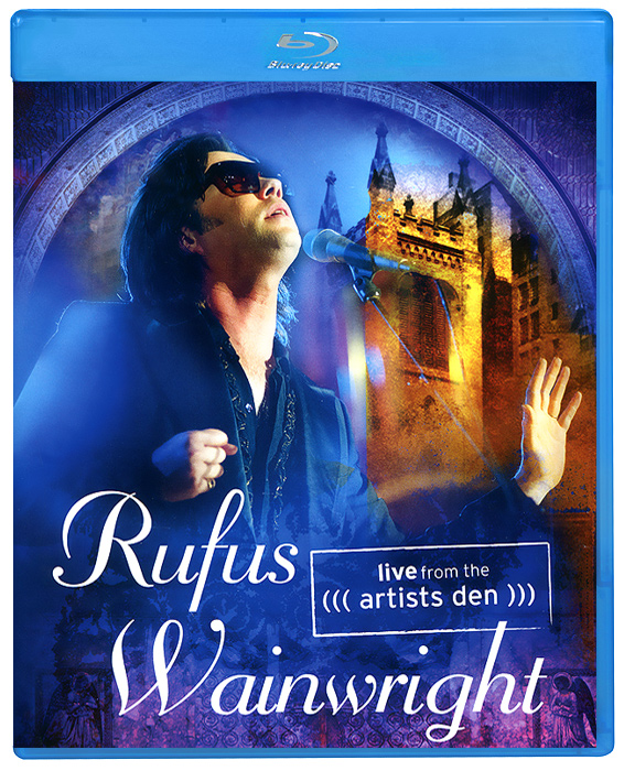 Rufus Wainwright: Live From The Artists Den (Blu-Ray) цена